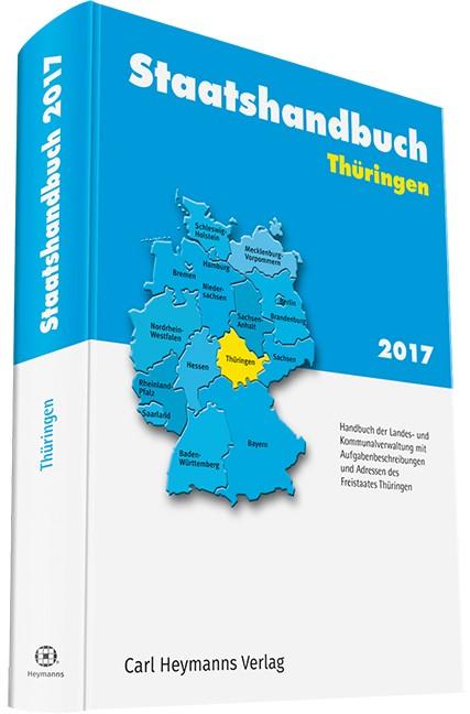 Staatshandbuch Thüringen 2017, 2017 | Buch (Cover)