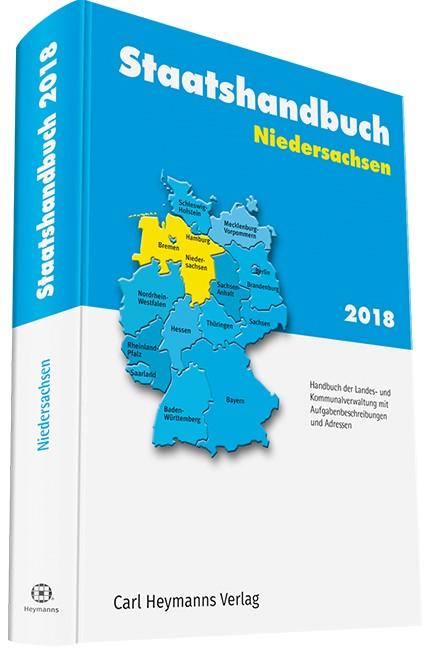 Staatshandbuch Niedersachsen 2017, 2018 | Buch (Cover)