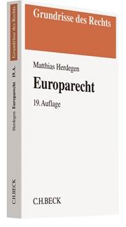 Europarecht | Herdegen | 19., überarbeitete und erweiterte Auflage, 2017 | Buch (Cover)