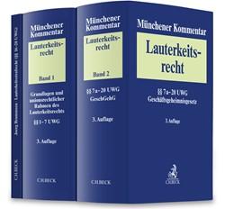 Abbildung von Münchener Kommentar zum Lauterkeitsrecht (UWG) | 3. Auflage | 2020 | beck-shop.de