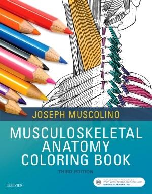 Abbildung von Muscolino | Musculoskeletal Anatomy Coloring Book | 2017
