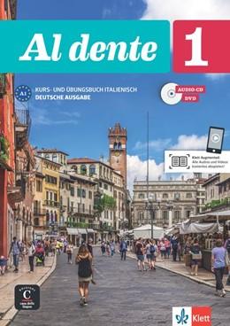 Abbildung von Al dente 1 (A1). Deutsche Ausgabe. Kurs- und Übungsbuch + Audio-CD + DVD   1. Auflage   2017   beck-shop.de