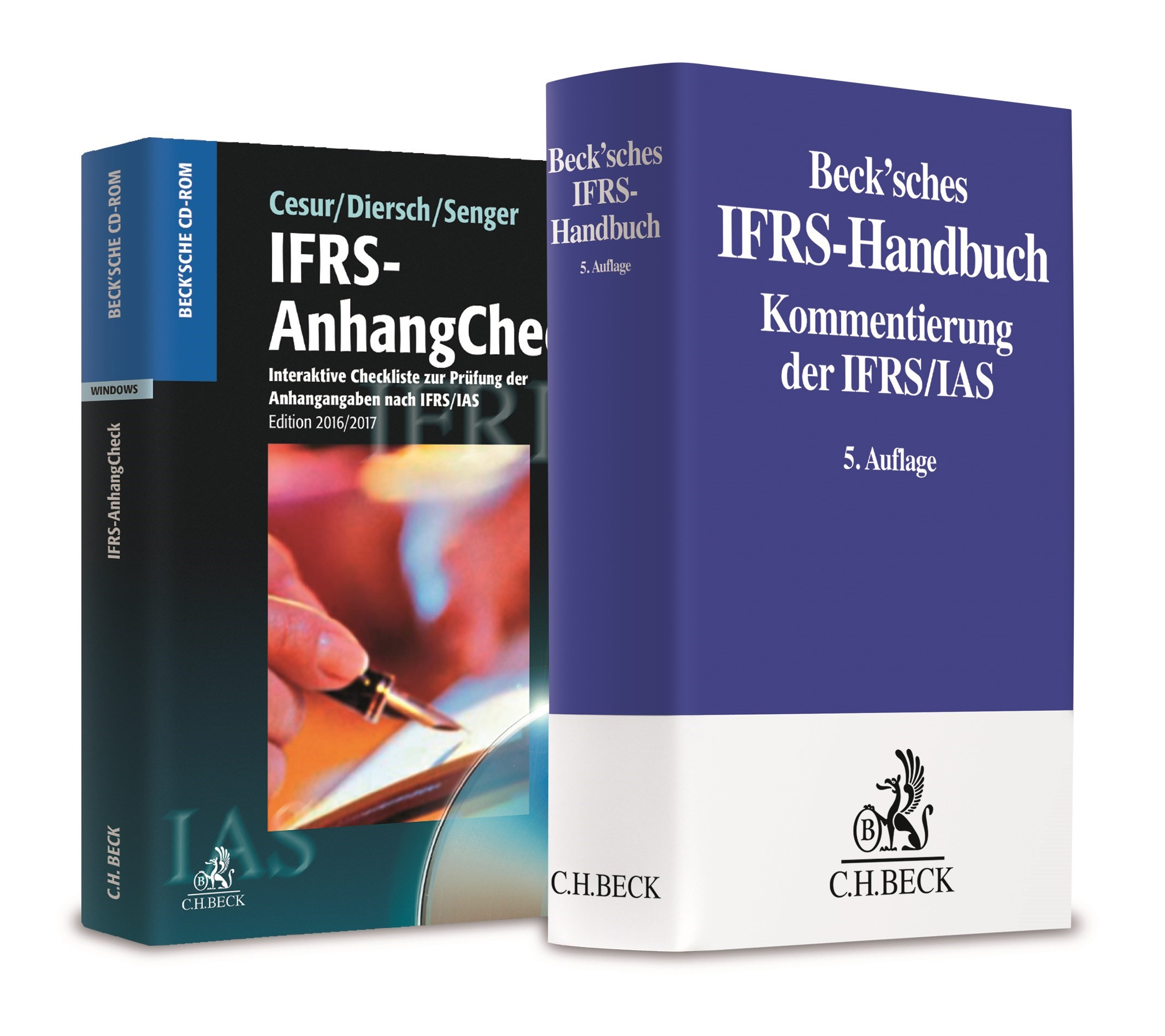 Beck'sches IFRS-Handbuch 5. Auflage 2016 + IFRS-AnhangCheck 2016/2017 • Set, 2017 (Cover)