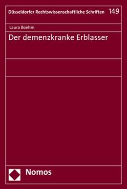 Abbildung von Boehm | Der demenzkranke Erblasser | 2017 | 149