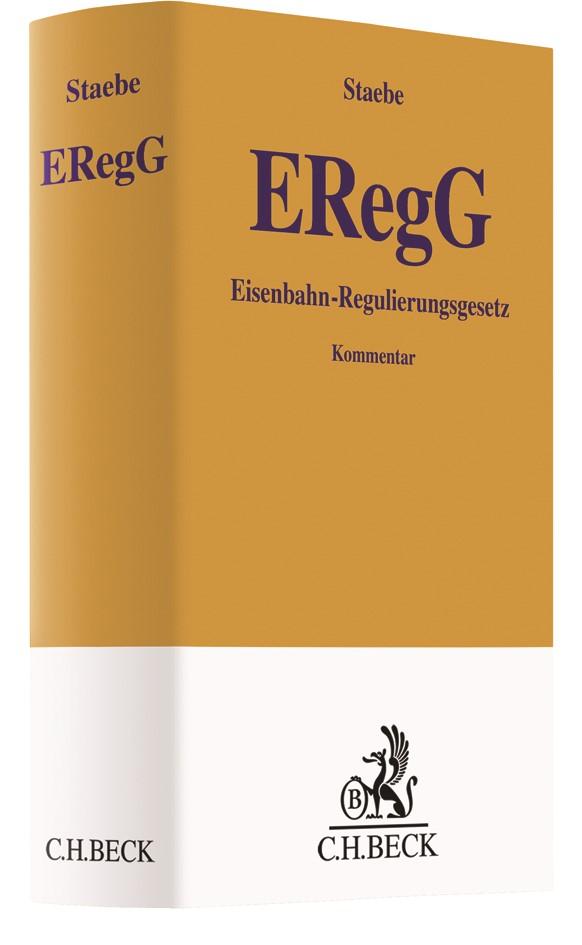 Eisenbahnregulierungsgesetz (ERegG) | Staebe, 2017 | Buch (Cover)