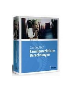 Familienrechtliche Berechnungen • Landratsamts- und Jugendamtsversion - Edition 1 / 2017 | Gutdeutsch, 2017 (Cover)