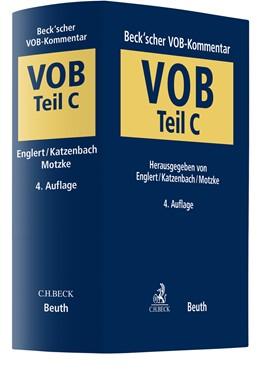 Abbildung von Englert / Katzenbach / Motzke | Beck'scher VOB-Kommentar: VOB Teil C | 4. Auflage | 2020 | Vergabe- und Vertragsordnung f...
