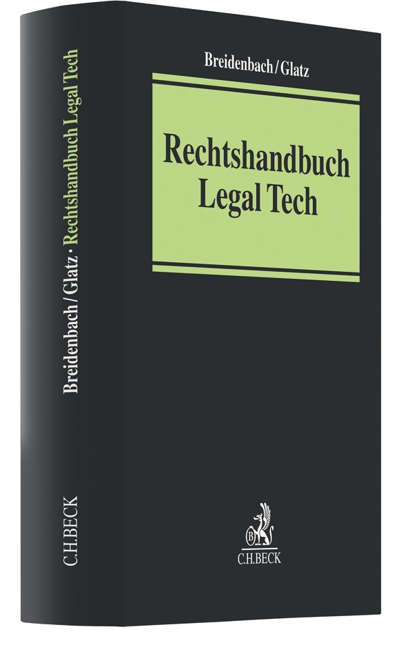 Rechtshandbuch Legal Tech | Breidenbach / Glatz, 2018 | Buch (Cover)