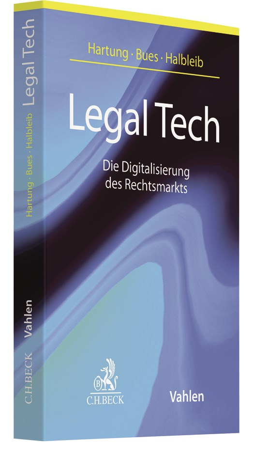 Legal Tech | Hartung / Bues / Halbleib, 2017 | Buch (Cover)