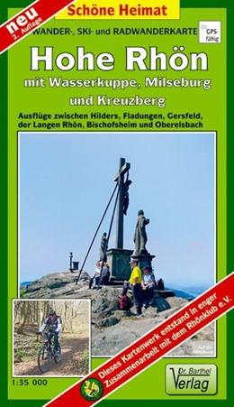 Abbildung von Wander-, Ski- und Radwanderkarte Hohe Rhön mit Wasserkuppe, Milseburg und Kreuzberg 1 : 35 000 | 2. Auflage | 2017 | beck-shop.de