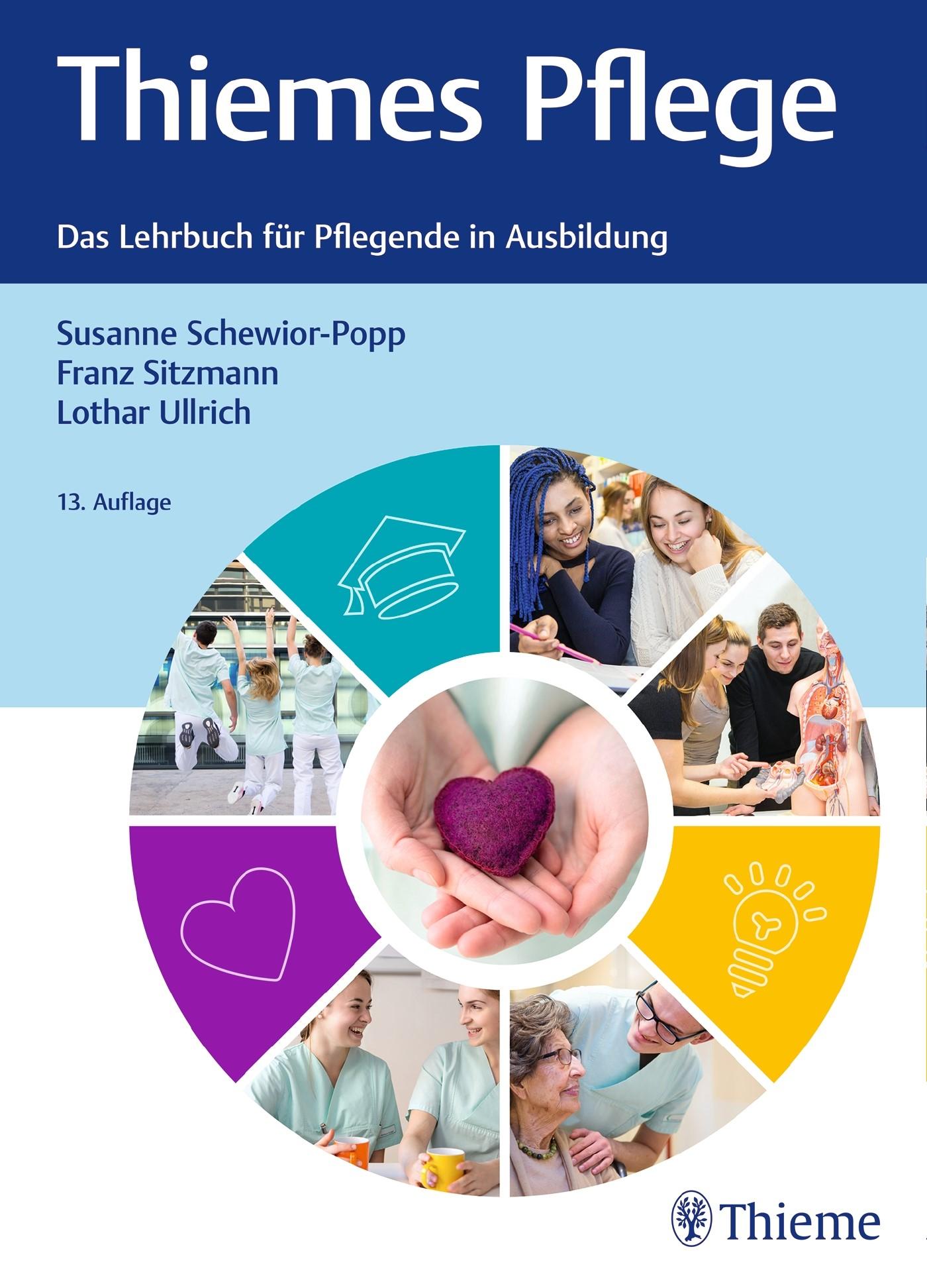 Thiemes Pflege • kompaktes Format | Schewior-Popp / Sitzmann / Ullrich | 13. aktualisierte und erweiterte Auflage, 2017 | Buch (Cover)
