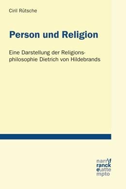 Abbildung von Rütsche | Person und Religion | 1. Auflage | 2017 | beck-shop.de