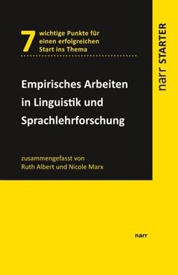 Abbildung von Albert | Empirisches Arbeiten in Linguistik und Sprachlehrforschung | 2017