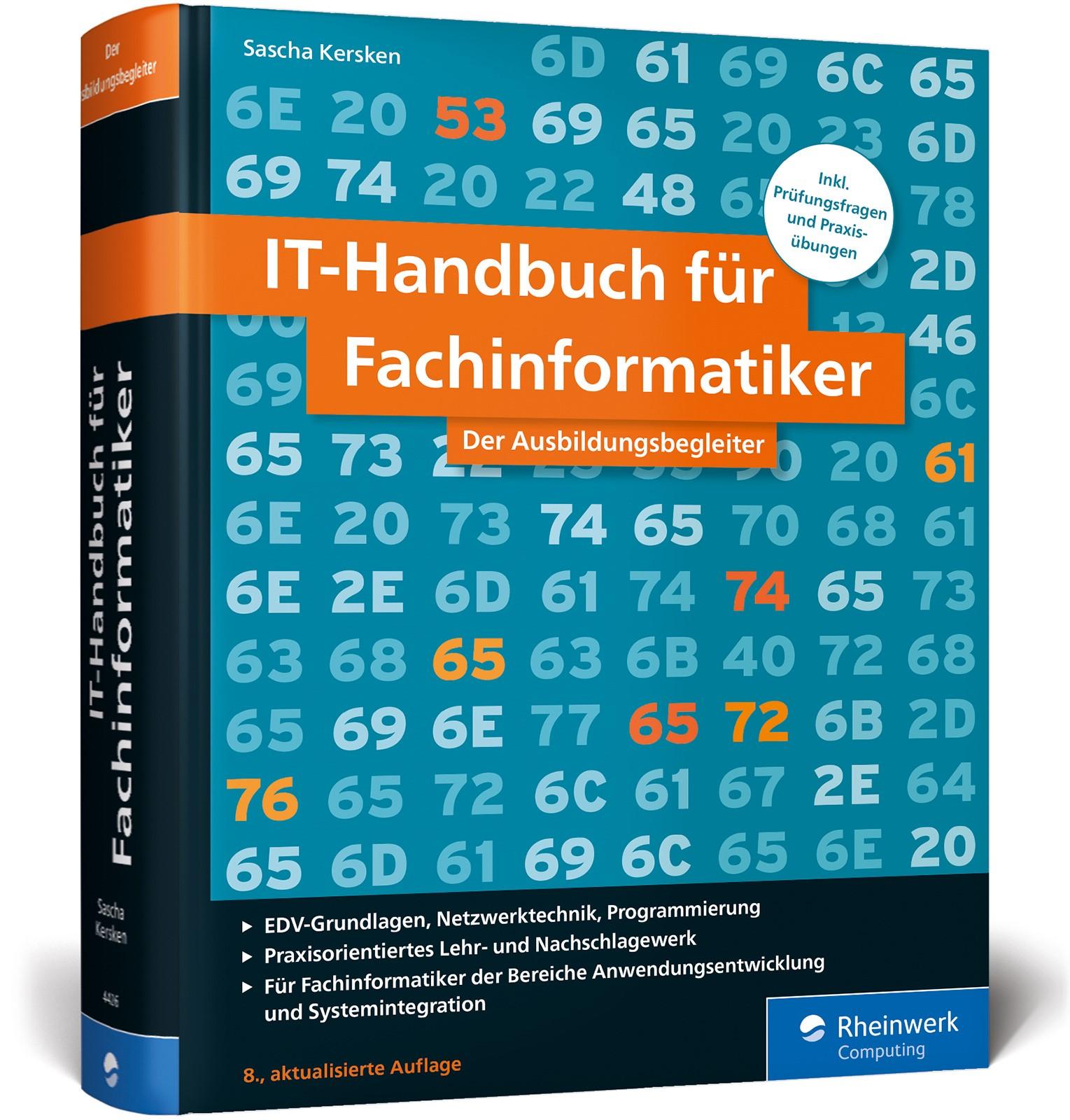 IT-Handbuch für Fachinformatiker | Kersken | 8. Auflage, 2017 | Buch (Cover)