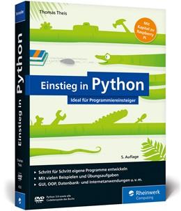 Abbildung von Theis | Einstieg in Python | 5. Auflage | 2017 | Programmieren lernen für Anfän...