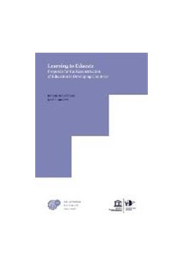 Abbildung von Schiefelbein / McGinn | Learning to Educate: Proposals for the Reconstruction of Education in Developing Countries | 2017