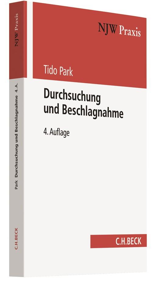 Durchsuchung und Beschlagnahme | Park | 4. Auflage, 2018 | Buch (Cover)