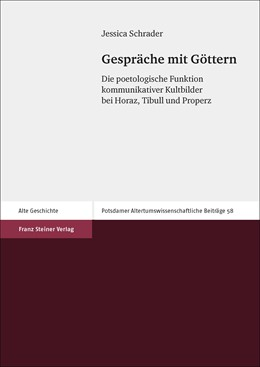 Abbildung von Schrader | Gespräche mit Göttern | 2017 | Die poetologische Funktion kom...