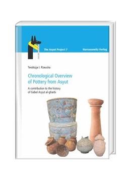 Abbildung von Rzeuska   Chronological Overview of Pottery from Asyut   1. Auflage   2018   beck-shop.de