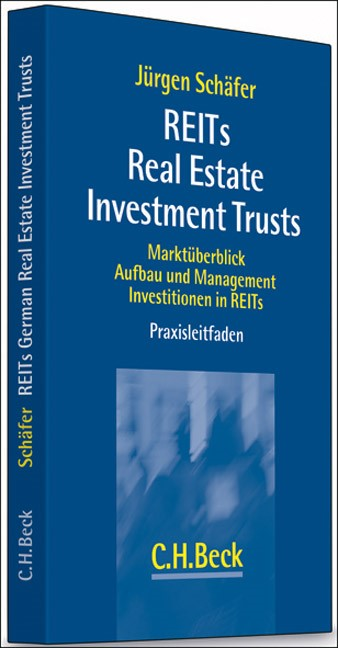 REITs Real Estate Investment Trusts   Schäfer, 2007   Buch (Cover)