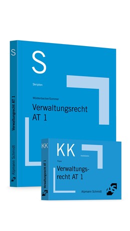 Abbildung von Wüstenbecker / Sommer / Pieper | Skript Verwaltungsrecht AT 1 + Karteikarten Verwaltungsrecht AT 1 - Set | 2017