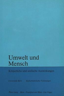 Abbildung von Mercier | Umwelt und Mensch | 1. Auflage | 1978 | beck-shop.de