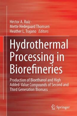 Abbildung von Ruiz / Hedegaard Thomsen | Hydrothermal Processing in Biorefineries | 1. Auflage | 2017 | beck-shop.de