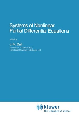 Abbildung von Ball | Systems of Nonlinear Partial Differential Equations | 1983 | 111