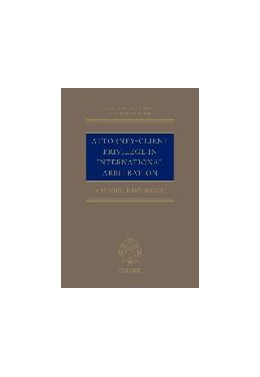 Abbildung von Möckesch | Attorney-Client Privilege in International Arbitration | 2017