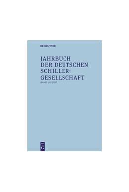 Abbildung von Honold / Lubkoll / Martus / Raulff / Richter | Jahrbuch der Deutschen Schillergesellschaft | 2017 | 2017