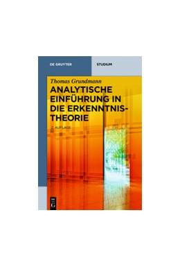 Abbildung von Grundmann | Analytische Einführung in die Erkenntnistheorie | 2. Auflage | 2017 | beck-shop.de