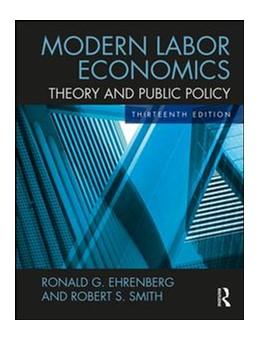 Abbildung von Ehrenberg / Smith | Modern Labor Economics | 13. Auflage | 2017 | beck-shop.de