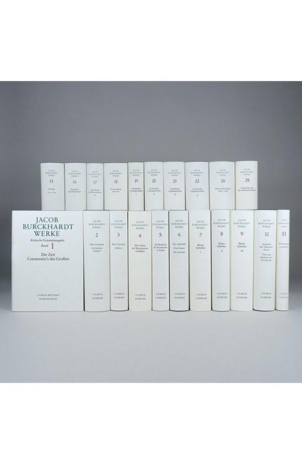 Cover: , Jacob Burckhardt Werke