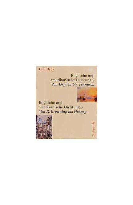 Cover: , Englische und amerikanische Dichtung