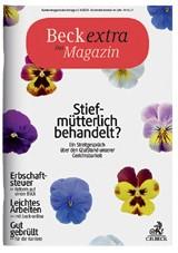 Beckextra Das Magazin • Heft 1/2017, 2017 (Cover)