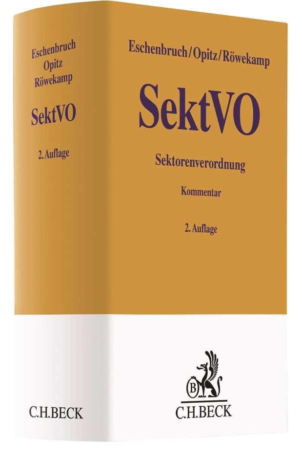 Sektorenverordnung: SektVO | Eschenbruch / Opitz / Röwekamp | 2. Auflage, 2019 | Buch (Cover)