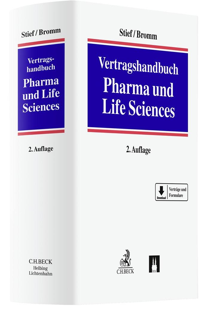 Vertragshandbuch Pharma und Life Sciences | Stief / Bromm | Buch (Cover)