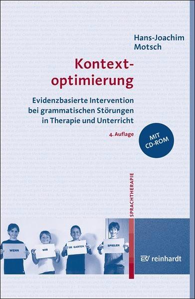 Kontextoptimierung   Motsch   4., völlig überarbeitete Auflage, 2017   Buch (Cover)