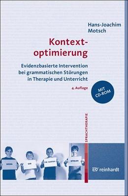 Abbildung von Motsch | Kontextoptimierung | 4., völlig überarbeitete Auflage | 2017 | Evidenzbasierte Intervention b...