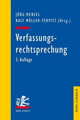 Abbildung von Menzel / Müller-Terpitz (Hrsg.) | Verfassungsrechtsprechung | 3. Auflage | 2017
