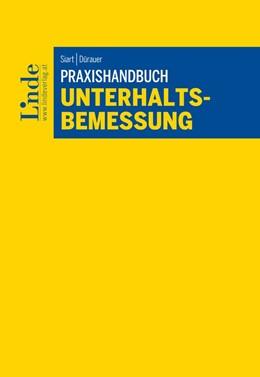 Abbildung von Siart / Dürauer   Praxishandbuch Unterhaltsbemessung   1. Auflage   2017   beck-shop.de