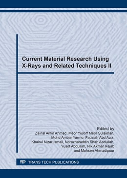 Abbildung von Ahmad / Meor Sulaiman / Yarmo / Abdul Aziz / Ismail / Abdullah / Rejab / Ahmadipour | Current Material Research Using X-Rays and Related Techniques II | 2017 | Volume 888