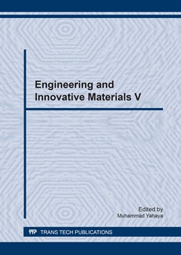 Abbildung von Yahaya | Engineering and Innovative Materials V | 2017 | Volume 889
