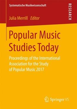 Abbildung von Merrill | Popular Music Studies Today | 2017 | Proceedings of the Internation...
