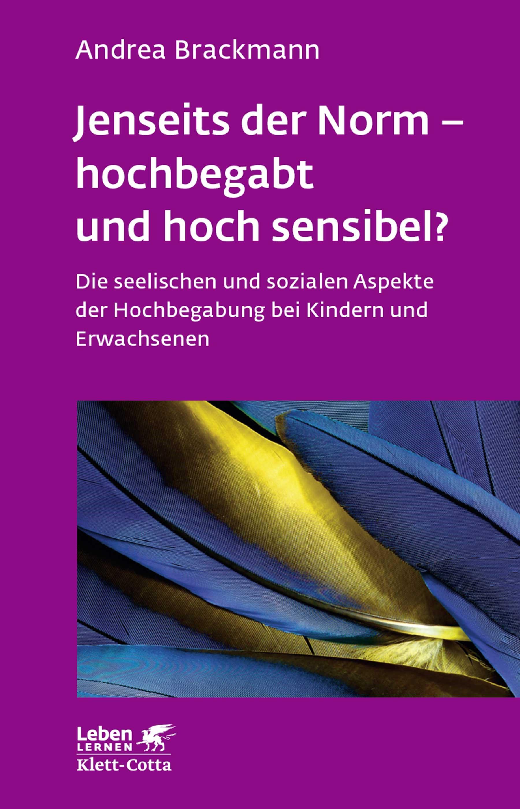 Jenseits der Norm - hochbegabt und hoch sensibel? | Brackmann | 9. Druckaufl, 2017 | Buch (Cover)