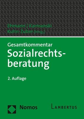 Gesamtkommentar Sozialrechtsberatung: SRB | Ehmann / Karmanski / Kuhn-Zuber (Hrsg.) | 2. Auflage, 2018 | Buch (Cover)