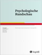 Psychologische Rundschau | 69. Jahrgang (Cover)