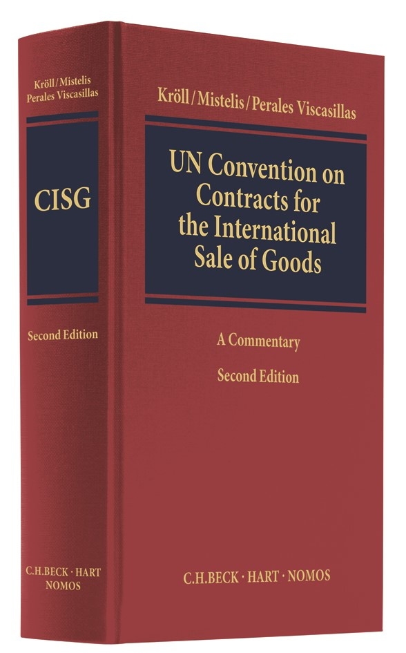 UN Convention on Contracts for the International Sale of Goods (CISG)   Kröll / Mistelis / Perales Viscasillas   2. Auflage, 2018   Buch (Cover)