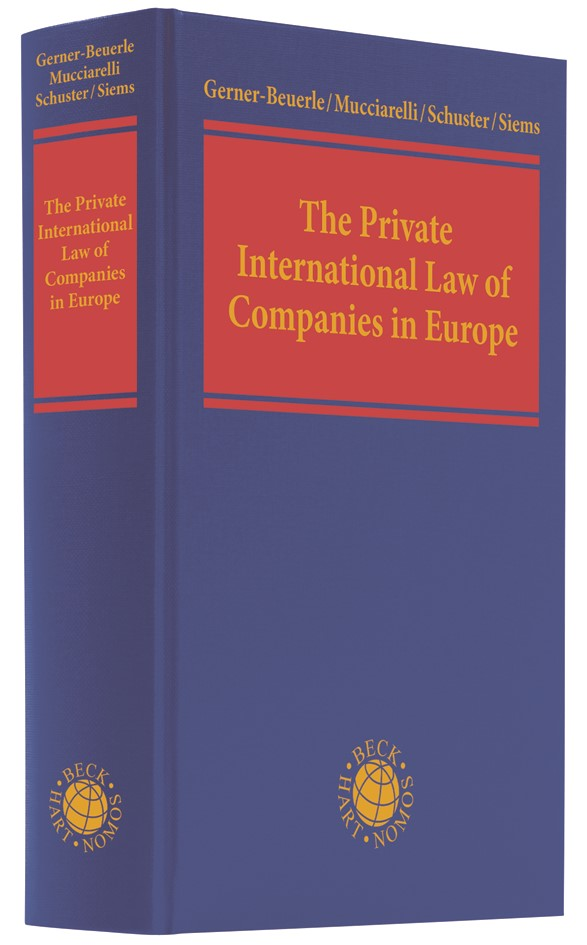 The Private International Law of Companies in Europe | Gerner-Beuerle / Mucciarelli / Schuster / Siems, 2019 | Buch (Cover)