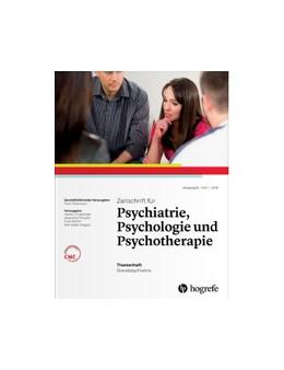 Abbildung von Zeitschrift für Psychiatrie, Psychologie und Psychotherapie | 67. Jahrgang | 2019